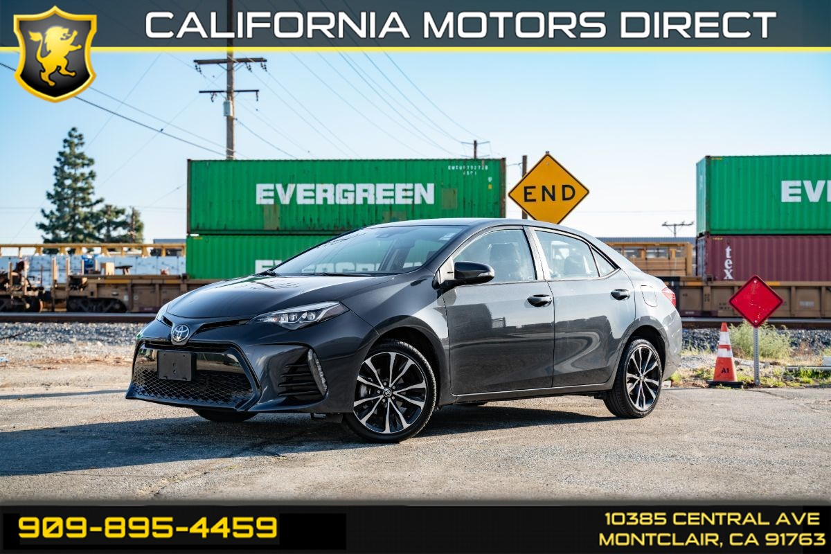 2018 Toyota Corolla SE (BLUETOOTH & BACK-UP CAMERA)