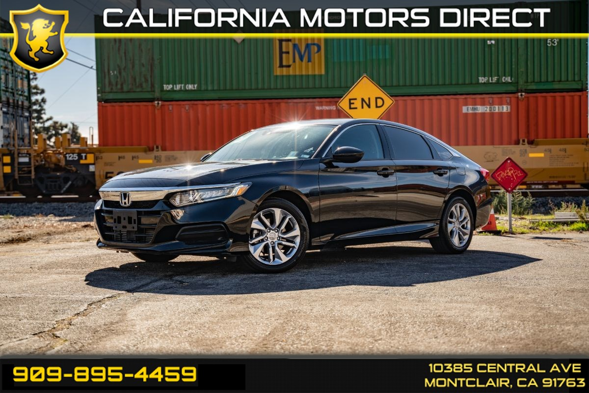 2018 Honda Accord Sedan LX 1.5T ( BACK UP CAMERA & PUSH START)