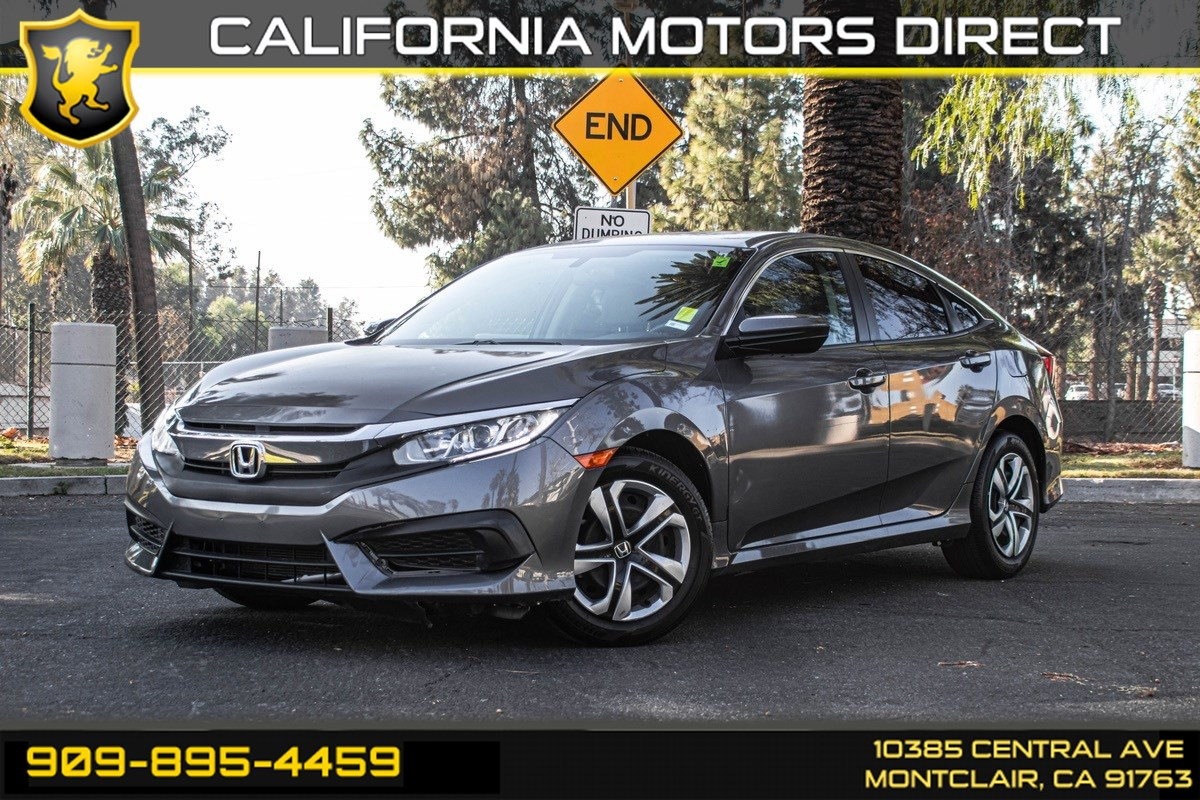 2018 Honda Civic Sedan LX (BLUETOOTH & BACK-UP CAMERA)