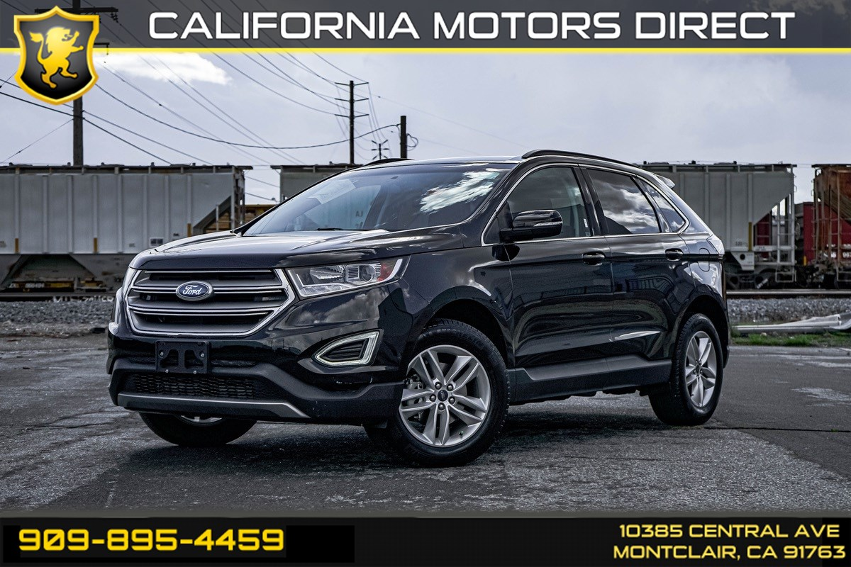 2017 Ford Edge SEL (BACK-UP CAMERA & BLUETOOTH)