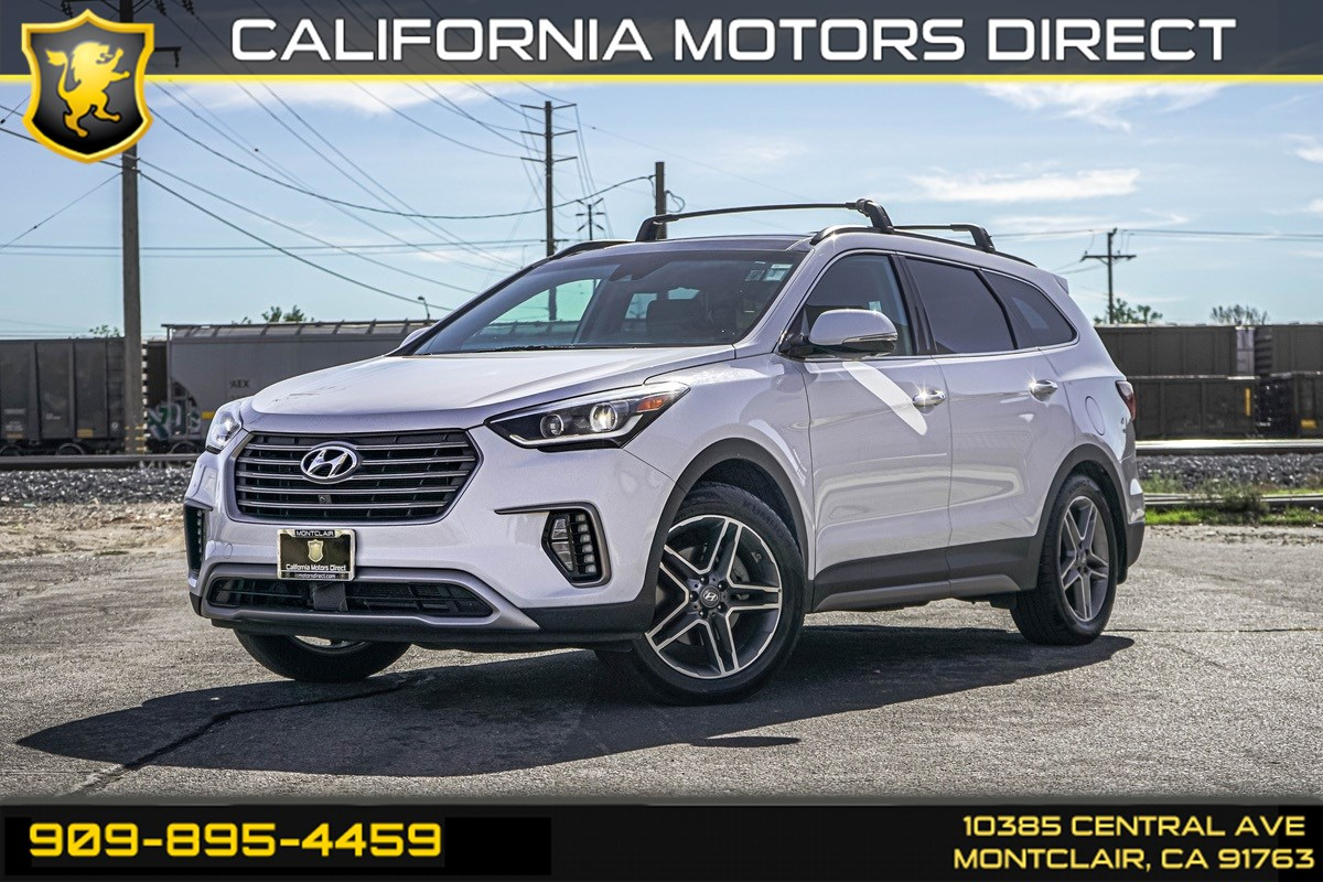 2017 Hyundai Santa Fe Limited Ultimate (TECH PACKAGE & 3RD ROW SEATING)