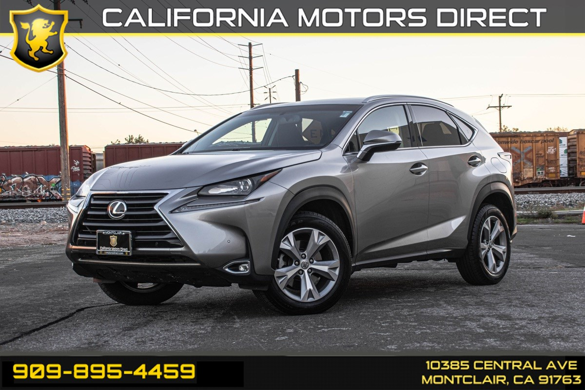 2017 Lexus NX Turbo (PREMIUM PACKAGE & BACK-UP CAMERA)