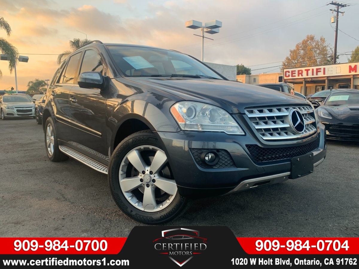 2010 Mercedes-Benz ML 350 SUV