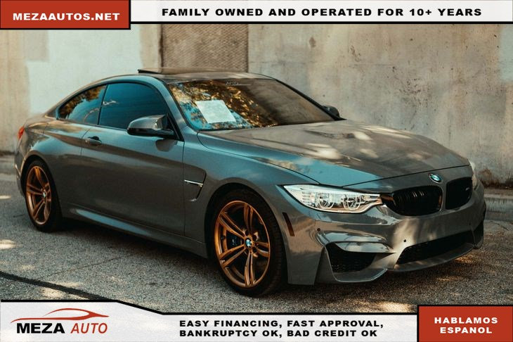 2015 BMW M4 *Red Interior*Navi*Paddle Shifters*