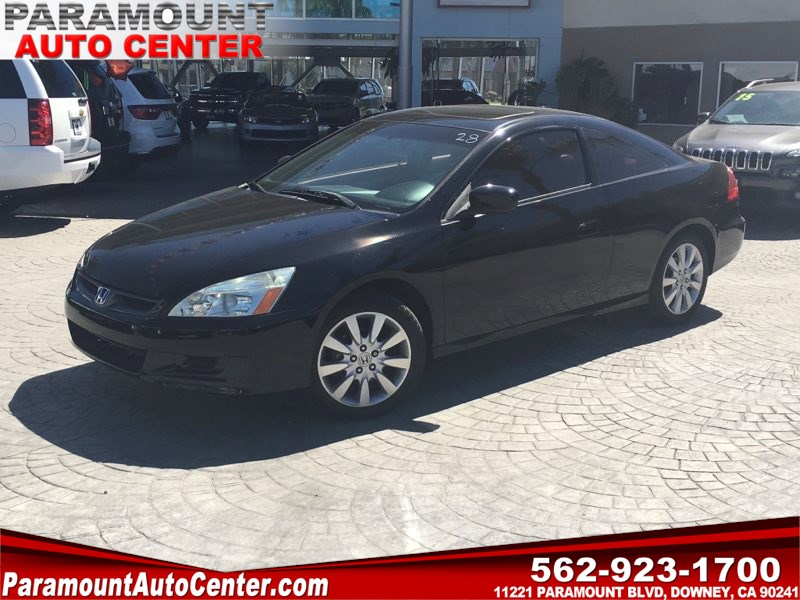 2007 honda accord coupe ex-l v6