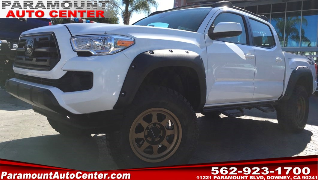 2018 Toyota Tacoma Custom 4x4 Off-Road Package W/Leather