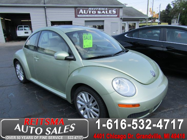 Sold 2008 Volkswagen New Beetle Coupe S In Grandville