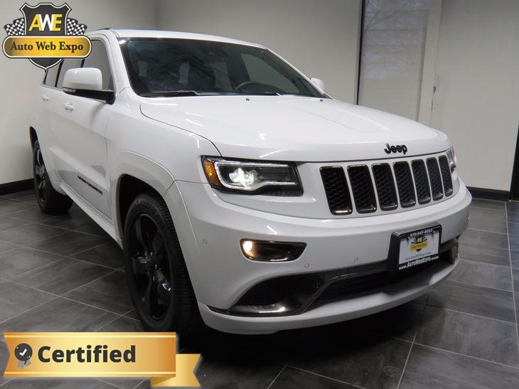 Bright White Clearcoat Jeep Grand Cherokee High Altitude - Grand cherokee invoice price