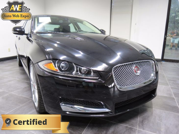 Beautiful 2015 Jaguar XF V8 Supercharged
