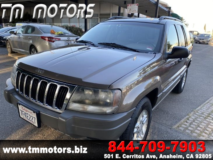 sold 2002 jeep grand cherokee laredo 4wd in anaheim tm motors