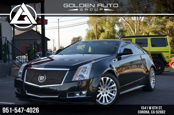 2012 Cadillac CTS Coupe Performance