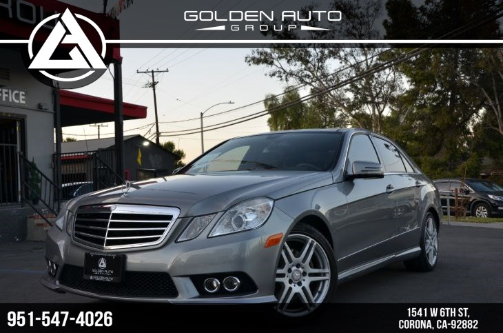 2010 Mercedes-Benz E 350 4MATIC Luxury Sedan