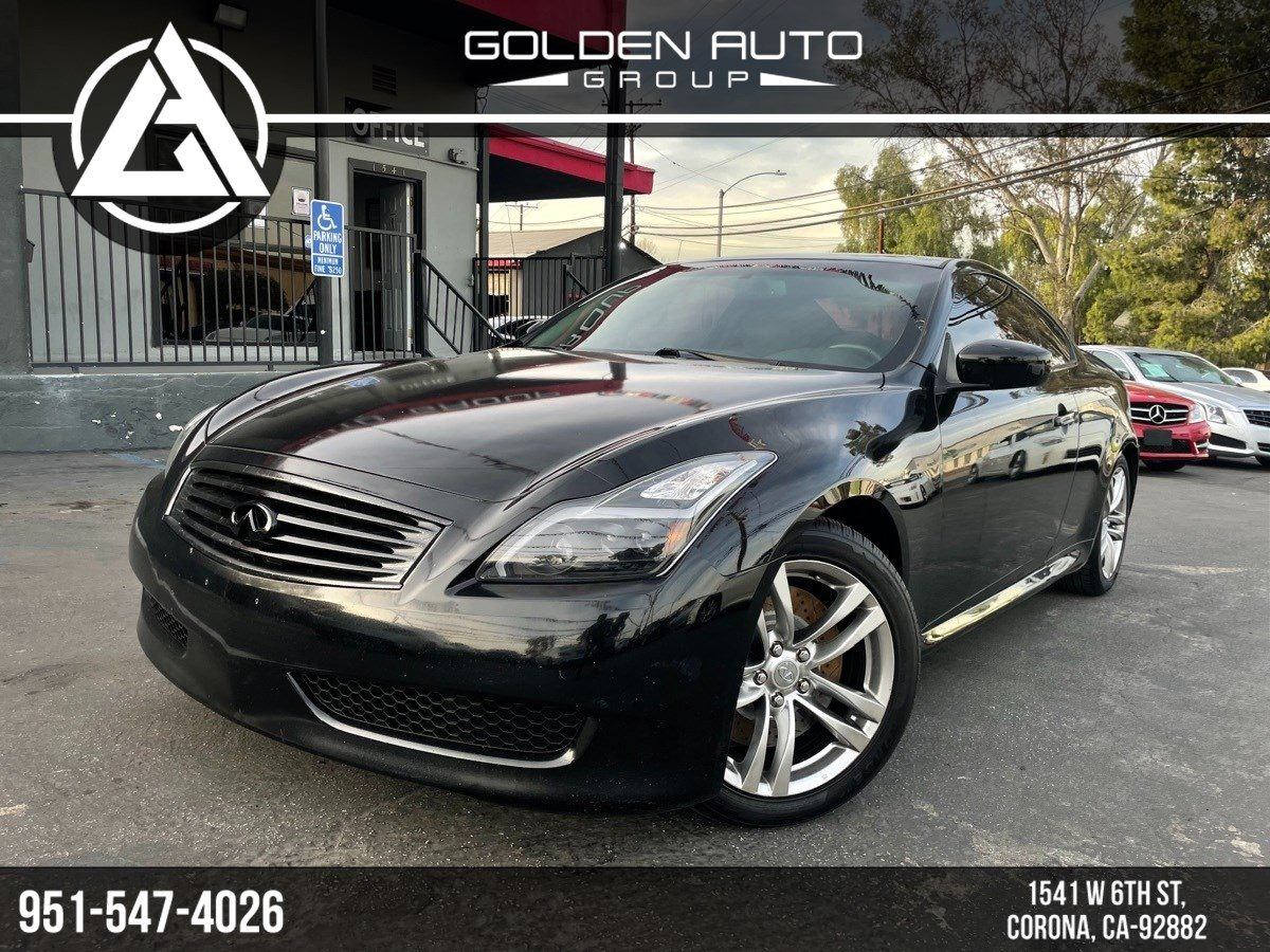 Used 2012 Infiniti G37 Coupe Sport 6mt In Corona