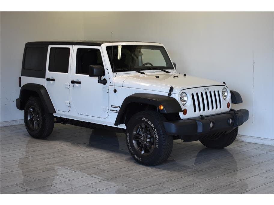 Sold 2013 Jeep Wrangler Unlimited Sport In Escondido