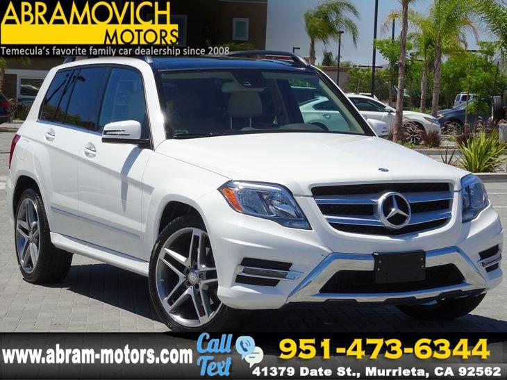 2015 Mercedes Benz Glk 350 1 Owner Lease Return Navigation Blind Spot Keyless Go Pano Roof Abramovich Motors