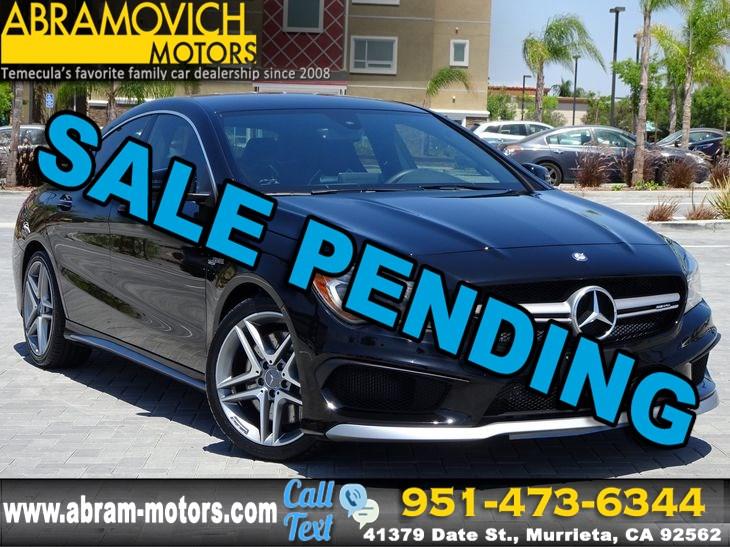 sold 2015 mercedes-benz cla 45 amg - 1 owner - navi - lease return