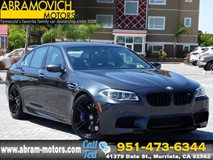 View 2015 BMW M5 COMPETITION