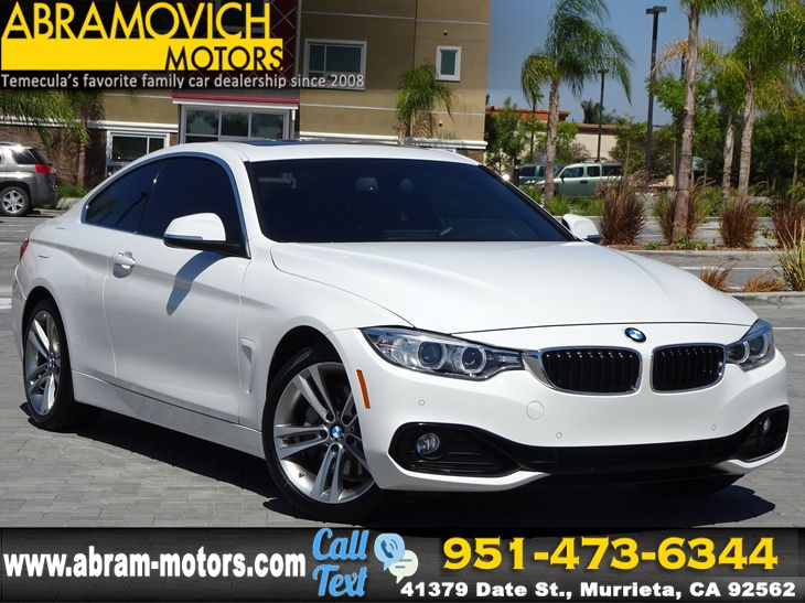 2017 BMW 4 Series 440i SPORT - 1 OWNER - NAVIGATION - LEASE RETURN