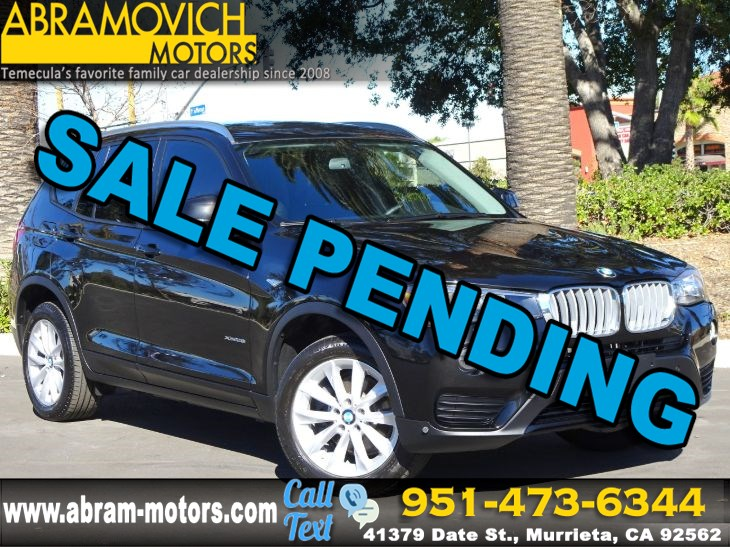 2016 BMW X3 xDrive28i - PREMIUM PACKAGE - NAVI - LEASE RETURN