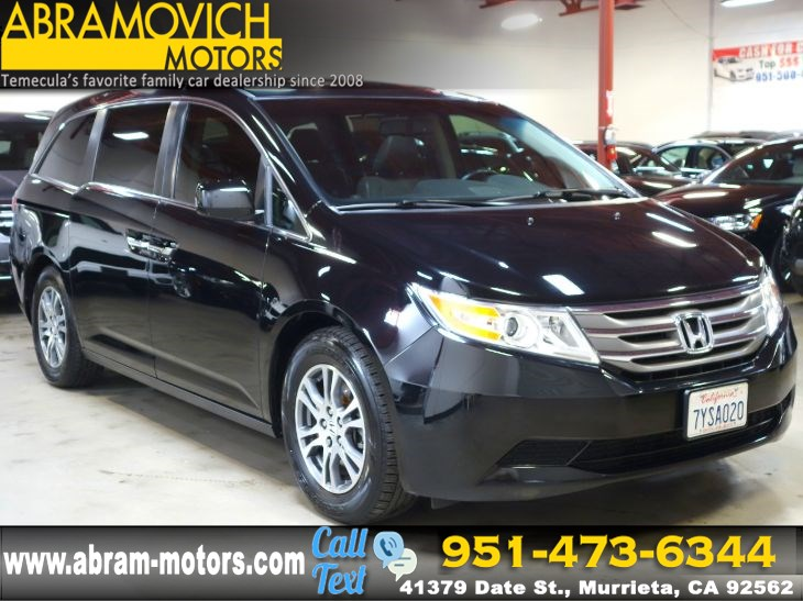 2013 Honda Odyssey EX-L - REAR VIEW CAMERA - SATELLITE RADIO