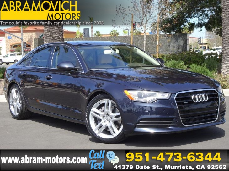 2015 Audi A6 - MSRP $54,085.00 - 2.0T - PREMIUM PLUS PACKAGE - LEASE RETURN
