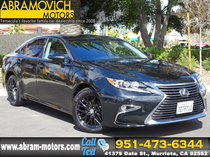 2017 Lexus ES350 - KEYLESS GO - PARKING SENSORS - NAVIGATION - Abramovich  Motors