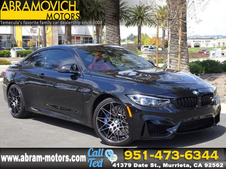 Used 2018 Bmw M4 Competition Package Navigation In Murrieta