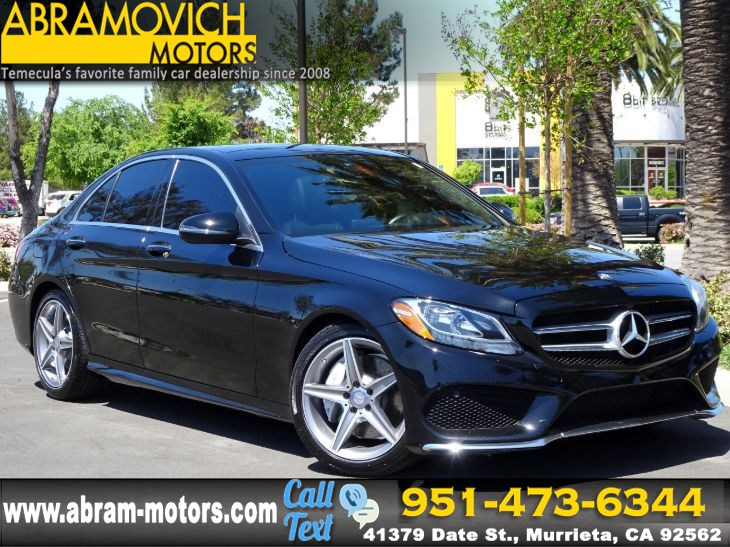 2016 Mercedes-Benz C 300 - MSRP $45,995 - Sport Sedan - 1 OWNER - P1 PKG - LEASE RETURN