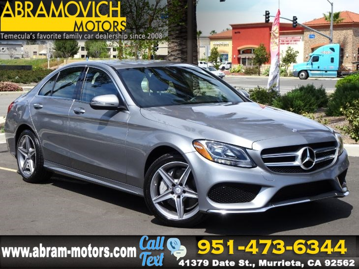 2016 Mercedes-Benz C 300 - MSRP $43,675 - 4MATIC Sport Sedan - 1 OWNER - NEW TIRES