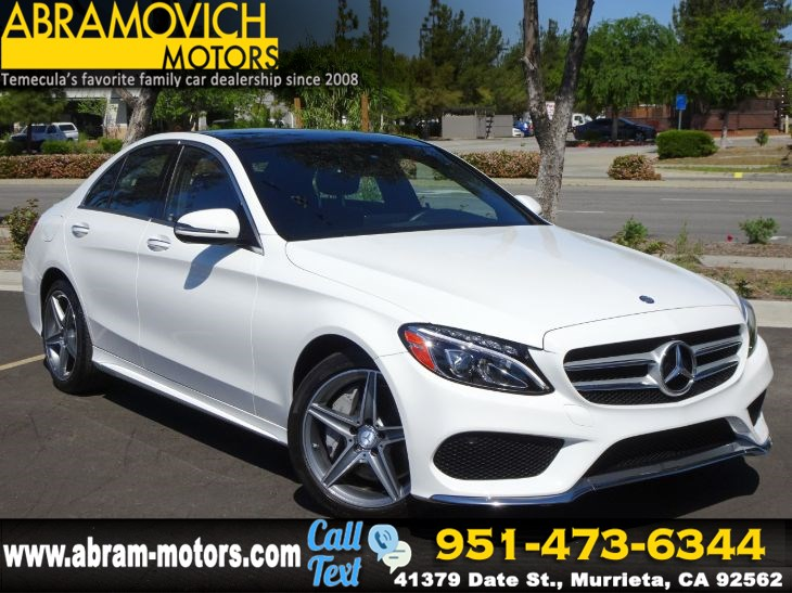 2016 Mercedes-Benz C 300 4MATIC Sport Sedan - P2 PKG - MULTIMEDIA PKG