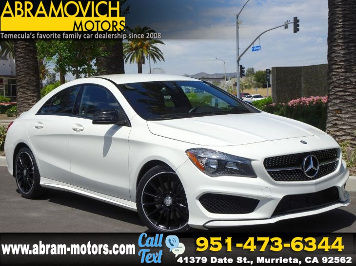 2016 Mercedes-Benz CLA 250 Coupe - NIGHT PACKAGE - SPORT PACKAGE