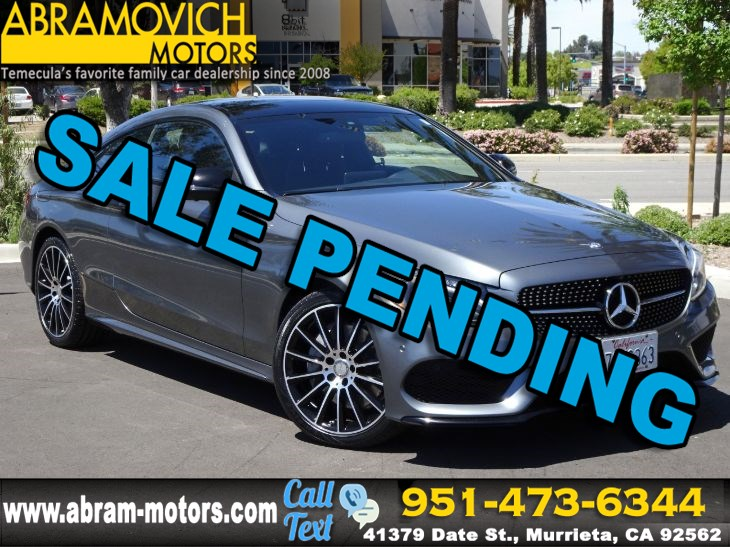 2017 Mercedes-Benz C 300 - MSRP $$52,005 - Coupe - SPORT PACKAGE - PREMIUM 2 PACKAGE