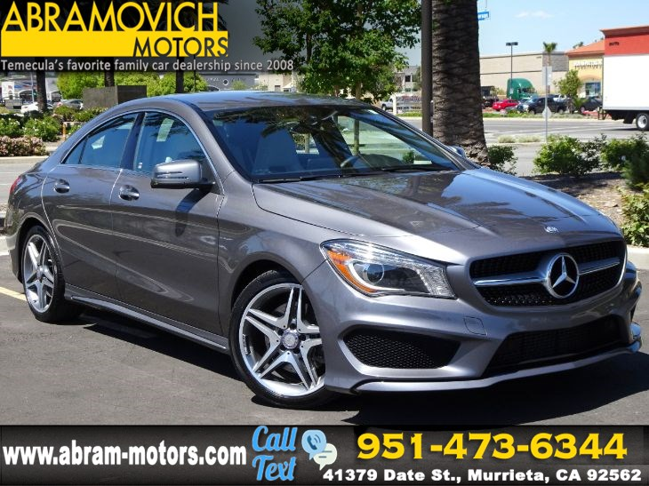 2015 Mercedes-Benz CLA 250 - FACTORY WARRANTY - Coupe - SPORT / PREMIUM PACKAGE - LEASE RETURN