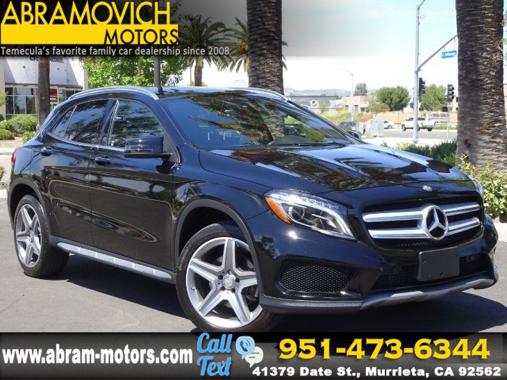 2016 Mercedes-Benz GLA 250 - MSRP: $46,175 - 4MATIC SUV - SPORT / PREMIUM PACKAGE
