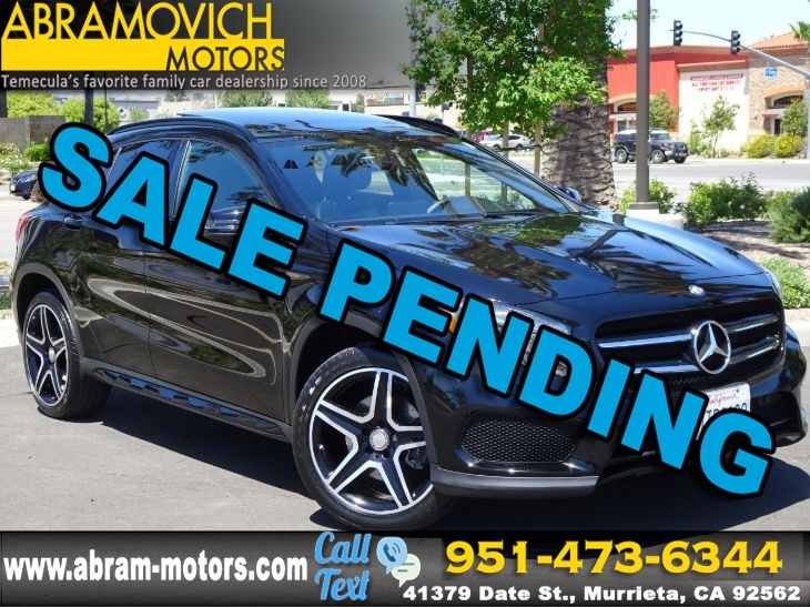2016 Mercedes-Benz GLA 250 4MATIC SUV - NIGHT PACKAGE - SPORT PACKAGE