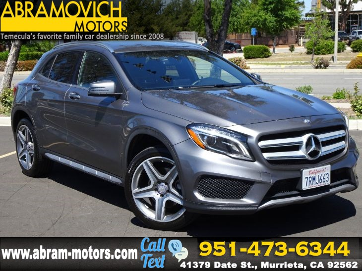 2016 Mercedes-Benz GLA 250 SUV - SPORT PACKAGE - MULTIMEDIA PACKAGE