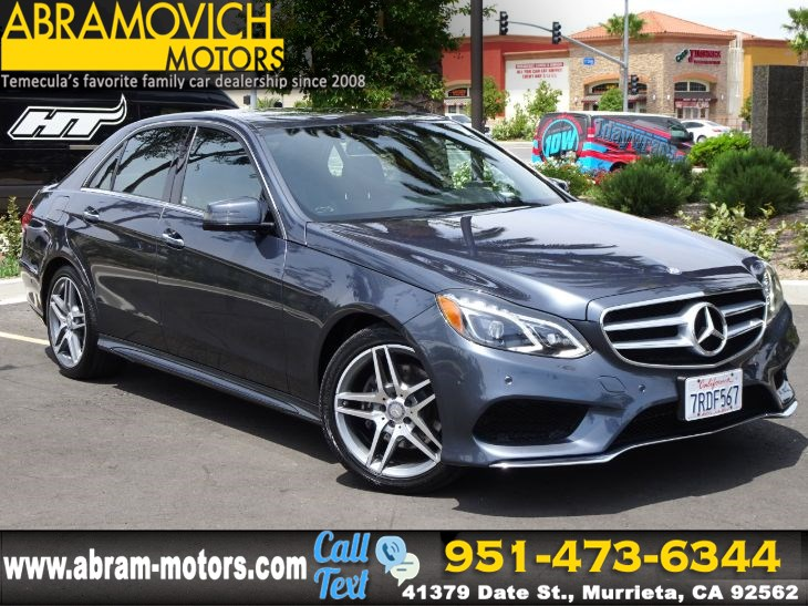 2016 Mercedes-Benz E 350 - MSRP: $65,260 - Sport Sedan - NAVI - SPORT / LANE TRACKING PKG