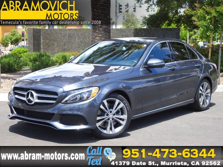 2016 Mercedes-Benz C 300 - MSRP: $47,950 - Sedan - MULTIMEDIA PACKAGE - P2 PKG - NEW TIRES