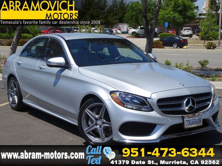 2016 Mercedes-Benz C 300 - MSRP $43,740 - Sport Sedan - MULTIMEDIA PKG - NAVI - NEW TIRES