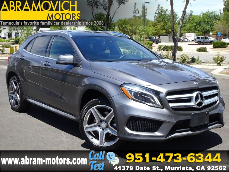 2016 Mercedes-Benz GLA 250 - MSRP: $47,045 - 4MATIC SUV - SPORT PACKAGE - PREMIUM PACKAGE