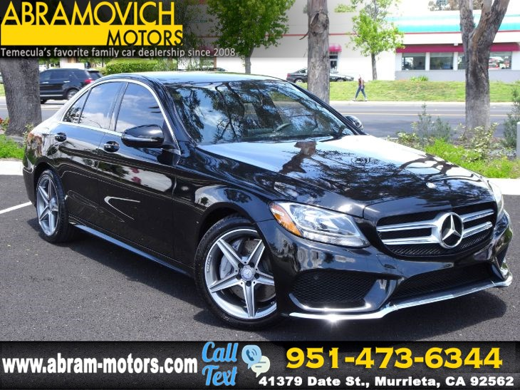 2016 Mercedes-Benz C 300 - MSRP: $42,955 - Sport Sedan - SPORT SUSPENSION - SPORT PACKAGE
