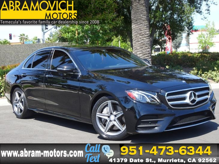 2017 Mercedes-Benz E 300 - MSRP $57,500 - RWD Sedan - NAVI - SPORT / PREMIUM PACKAGE