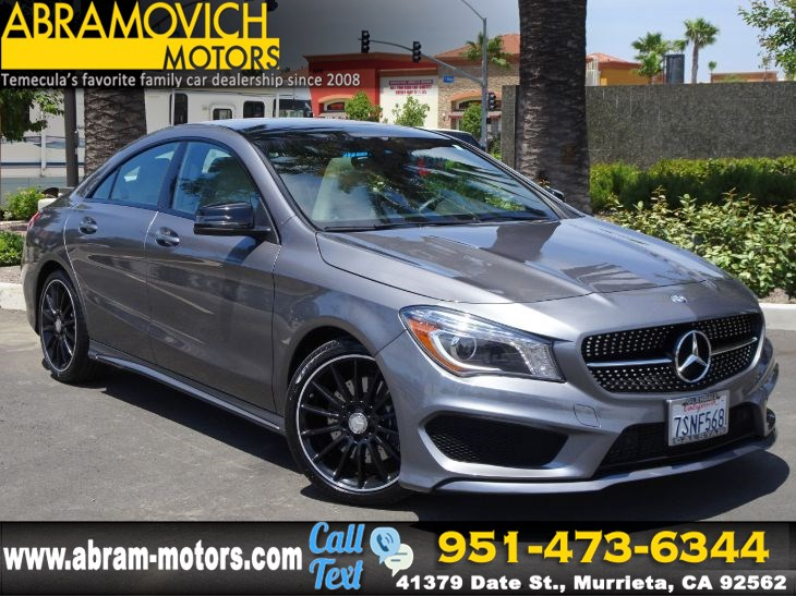 2016 Mercedes-Benz CLA 250 - MSRP: $44,835 - Coupe - SPORT / NIGHT / PREMIUM PACKAGE