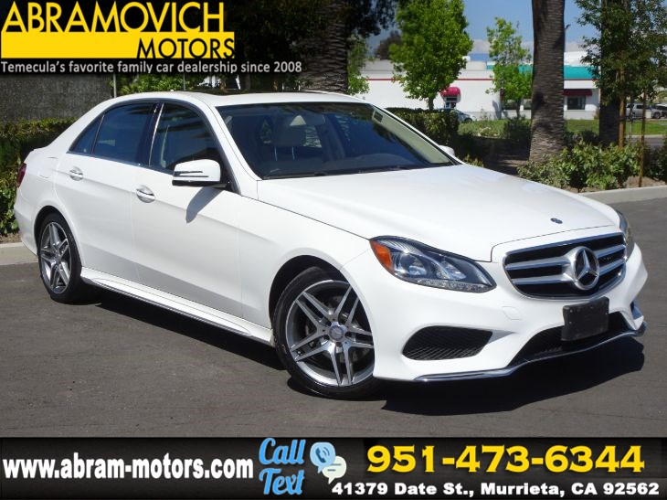 2016 Mercedes-Benz E 350 - MSRP: $61,195 - Sport Sedan - PREMIUM PKG - NAVI - 1 OWNER