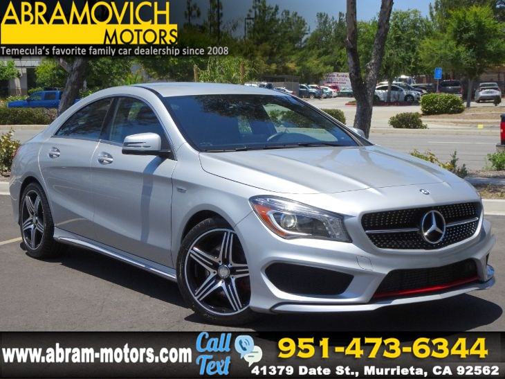 2015 Mercedes-Benz CLA 250 - FACTORY WARRANTY - Coupe - SPORT PKG PLUS - P1 PKG - BLIND SPOT