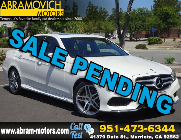 2016 Mercedes-Benz E 350 - MSRP: $66,015 - Sport Sedan - LIGHTING / SPORT PACKAGE