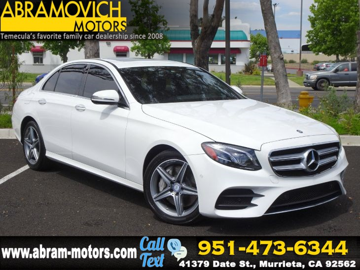 2017 Mercedes-Benz E 300 - MSRP: $63,875 - 4MATIC Sedan - LIGHTING / SPORT PACKAGE