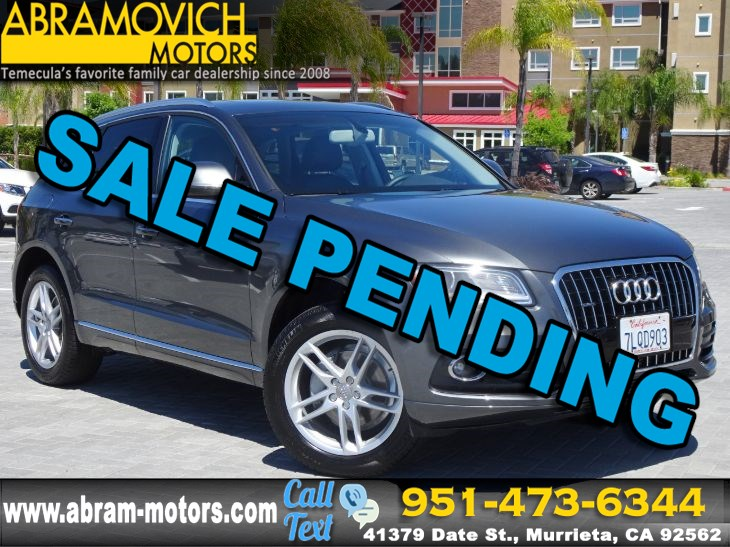 "2016 Audi Q5 - Premium Plus - MSRP $48,950.00 - 19"" WHEEL PACKAGE -  TECHNOLOGY PACKAGE"