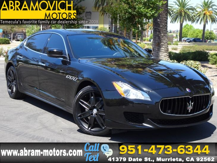 2015 Maserati Quattroporte >> 2015 Maserati Quattroporte S Q4 Navigation Priced To Sell Abramovich Motors