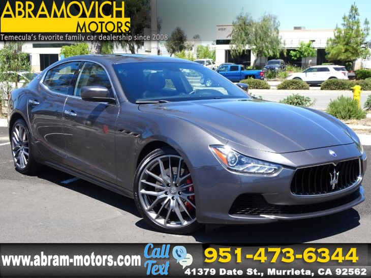2016 Maserati Ghibli S -1 OWNER - NAVI - PRICED TO SELL